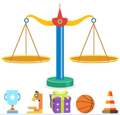 Equilibra la balanza