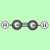 Construye moléculas de alquinos