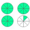 Empareja fracciones mixtas II
