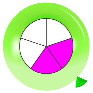 Pincha globos - Fracciones