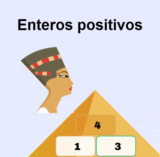 Pirámide enteros positivos